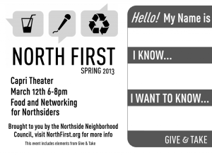 JACC North-First- Mar 12 2013 event logo
